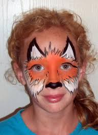 cute and fast fox mask face painting pinterest fox mask