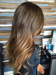 how to blend hair color blended brunette mane interest