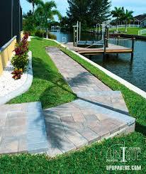 paver steps walkways u0026 retaining walls unique pavers design