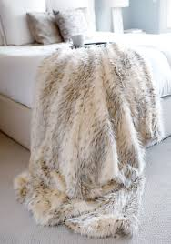 Faux Fur Blankets And Throws Designer Fur Fashion Fur Fur In Fashion Throw Blanket Fur