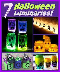 7 fun to make halloween luminaries
