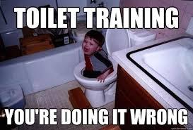 Potty Training Memes - toilet training you re doing it wrong toilet training quickmeme