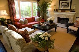 The Red Sofa 36 Elegant Living Rooms That Are Richly Furnished U0026 Decorated