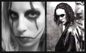 the crow makeup parison by magenta2326