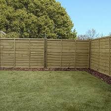 4 Ft Fence Panels With Trellis 4ft X 6ft Waltons Pressure Treated Lap Garden Fence Panel