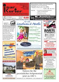 Esszimmerst Le Rieger Isar Kurier Kw06 2017 By Mark Ruof Issuu