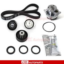 timing belt water pump kit 00 04 ford focus mazda tribute 2 0l
