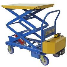 ergonomic powered mobile lift table