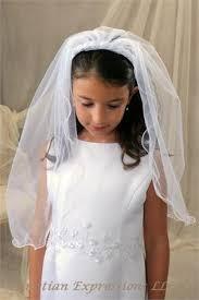 communion veils communion headband veil with rosettes bridal wedding veils