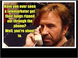 Telemarketer Meme - gastric sleeve surgery an unexpected journey chuck norris and humour