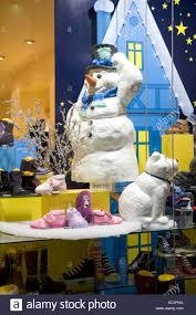 Polar Bear Christmas Decoration Uk by Christmas Polar Bear Display Stock Photos U0026 Christmas Polar Bear