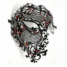 venetian masquerade masks for men silver black gold opera phantom metal venetian masquerade mask men