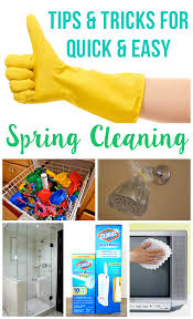 Springcleaning Clever Spring Cleaning Tips U0026 Hacks Happiness Is Homemade
