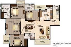 best floor plans about jaypee kosmos