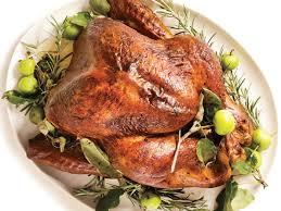 roasted turkey rosemary garlic butter rub pan gravy recipe