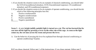 classical or operant conditioning worksheet google docs
