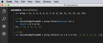 php array map es6 arrow functions the concise syntax in javascript