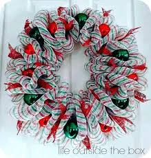 ribbon wreaths mesh ribbon wreath makushina