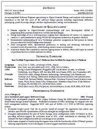 Sample Java Developer Resume by Software Engineer Resume Skills Resume For Your Job Application