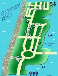 Map Of Clearwater Beach Summer Guide 2010 Clearwater Beach