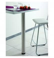 pied pour cuisine pied de table et snack msa pour votre cuisine moderne sur mesure