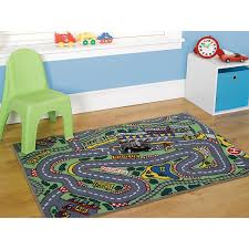 childrens boys formula one playmat roadmap toy cars wheels