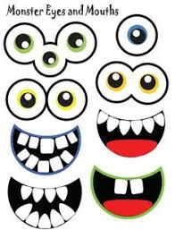 monster eyes printable photo props for photo booth fun 3 00