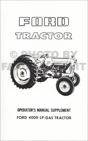 1965 1975 ford tractor repair shop manual 2000 3000 4000 5000