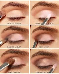 tutorial make up natural untuk kulit coklat cara memakai eyeshadow untuk sehari hari make up pinterest