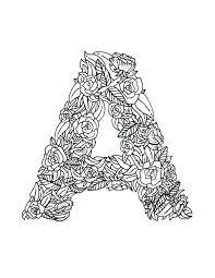 letter coloring pages alphabet colouring pdf sheets preschool