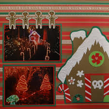 Large Scrapbook Christmas Scrapbook Album 1 Me And My Cricut