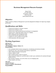 Resume Objective For Project Manager Resume Objective For Management Position Resume For Your Job