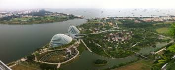 singapore marina bay sands view from the top adrian video image