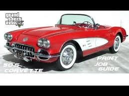 50s corvette gta v how to 50 s corvette look coquette blackfin tips n