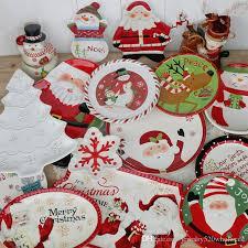 christmas dinnerware 2018 porcelain dish christmas dinnerware creative kids