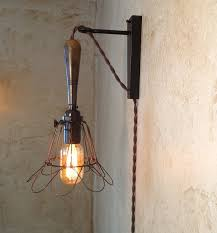 Lamp Sconce Trouble Lamp Sconce Plug In Vintage Industrial Style Edison