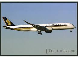 r ervation si e jetairfly postcard singapore airlines a350 jjpostcards com