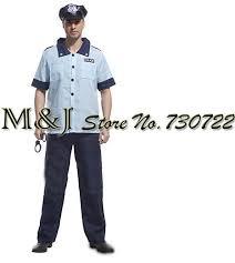 Policeman Halloween Costume Compare Prices Police Halloween Costumes Men