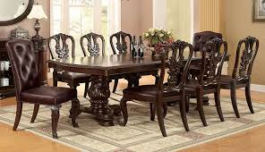 How To Set A Formal Dining Room Table Buy Furniture Of America Cm3319t Set Bellagio Formal Dining Room