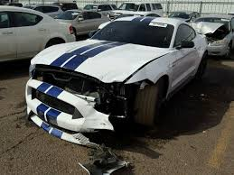 Black Mustang Crash Crashed Ford Mustang Shelby Gt350 Listed On Copart Autoevolution