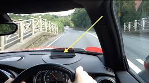 Mini Cooper Info Hud Demonstration Of A Heads Up Display In A 2015 Mini Cooper