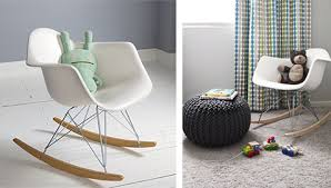 chaise bascule eames chaise enfant rar charles eames