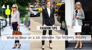 what to wear for different job interviews based on the company