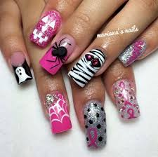best 25 breast cancer nails ideas on pinterest cancer nails