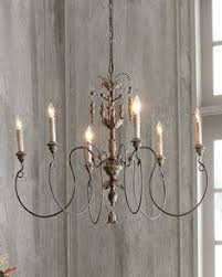 French Wire Chandelier H5r6c Salento Six Light Chandelier Lightbulb Pinterest