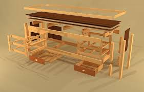 Woodworking Bench Plans Simple by How To Build Workbench With Drawers Best House Design