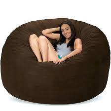 giant bean bag with rabbit dense cover giant bean bag bed amazon