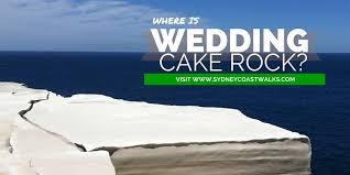 wedding cake rock where is wedding cake rock sydney coast walks