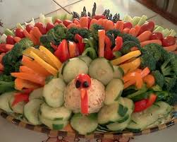 vegetable tray thanksgiving turkey festival collections