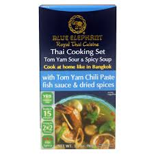 elephant cuisine blue elephant cooking set tom yam 90g tops